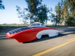 Luminos Solar Electric Car For Australian Race Cruises At 55 MPH