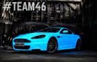 Gumball 3000 Aston Martin Sports New Glow-In-The-Dark Paint