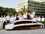 Stella Vie 'family sedan' wins long-distance solar car race
