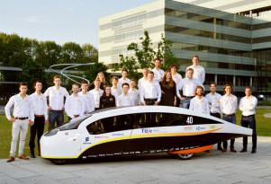 Stella Vie 'family sedan' wins long-distance solar car race