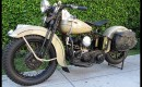 Steve McQueen's 1939 Harley-Davidson WLD Solo Sport - image: Mecum Auctions