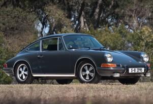 Steve McQueen's 1970 Porsche 911S. Image: RM Auctions