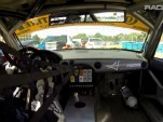 Steven McAleer on a brilliant first lap at Sebring