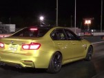 Stock 2015 BMW M3 runs 11.66-second quarter mile at 119.24 mph