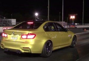 Stock 2015 BMW M3 runs 11.66-second quarter mile at 119.24 mph