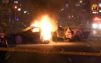 Dubious Distinction: California Car Thief Is First Person To Die While Driving A Tesla Model S
