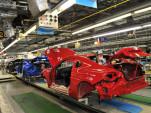 Subaru BR-Z production in Japan