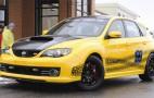 Subaru designs custom Impreza WRX STI for rally champ Travis Pastrana