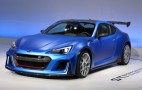 Subaru Unveils Radical STI Performance Concept In New York: Live Photos