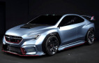 Subaru Viziv Performance STI concept debuts, could hint at next-gen WRX STI