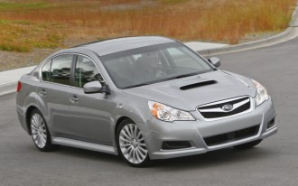 Subaru, Honda, Infiniti Top ALG Residual Value Awards