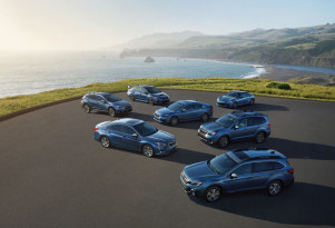 Subaru isn't blue about 50 years of cars in the US