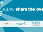 Subaru's 5th annual Share the Love sales event