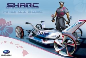Subaru's SHARC, winner of the 2012 Los Angeles Auto Show Design Challenge