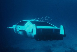 Submersible Lotus Esprit from James Bond flick 'The Spy Who Loved Me'