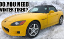 Summer tires vs winter tires in cold and dry temperatures
