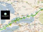 Sun Country Highway 401 corridor map