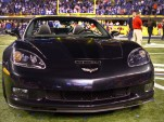 Super Bowl XLVI MVP Eli Manning presented with 2012 Chevy Corvette