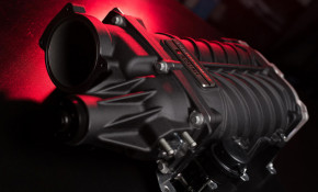 """Supercharger developed by Ford Performance and Roush for """"Coyote"""" 5.0-liter V-8"""
