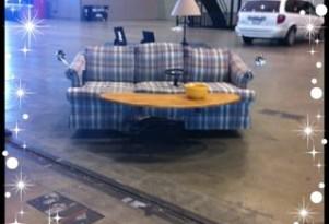 Suzuki motorized sofa