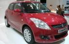 2010 Paris Auto Show: 2011 Suzuki Swift Live Photos