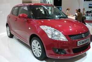 2011 Suzuki Swift live photos
