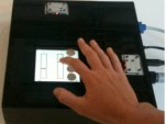 T-Pad tactile touchscreen display (Image: i-programmer)