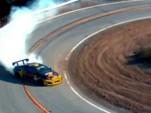 Tanner Foust drifts Mullholland Drive in Scion tC