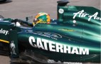 Team Lotus Formula 1 Cars Adopt Caterham Livery