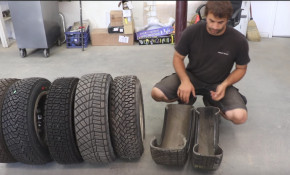 Team O'Neil Rally School gives a lesson in rally tires