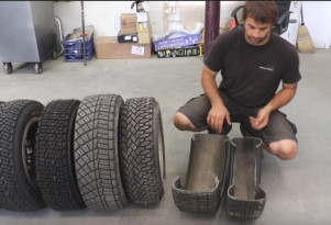 Learn the difference between rally and street tires