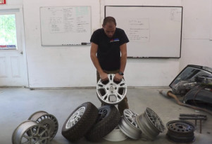 What kind of wheels should you use on a rally car?