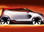 Teaser for 2012 Kia Track-ster Concept