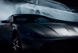 Teaser for 2017 Aston Martin debuting at 2016 Geneva Motor Show