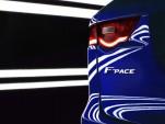 Teaser for 2017 Jaguar F-Pace