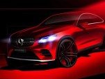 Teaser for 2017 Mercedes-AMG GLC43 Coupe