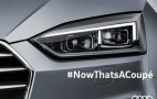 2018 Audi A5 teased ahead of June 2 reveal
