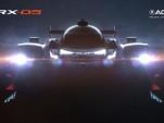 Teaser for 2018 Team Penske Acura ARX-05 DPi race car
