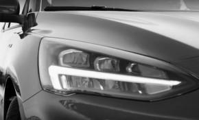 Teaser for 2019 Ford Focus debuting on April 10, 2018