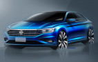 2019 Volkswagen Jetta teased ahead of Detroit debut