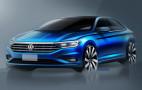 2019 Volkswagen Jetta teased ahead of Detroit debut