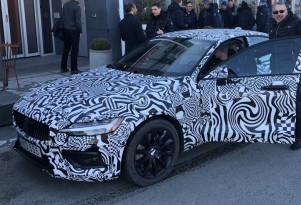Teaser for 2019 Volvo S60
