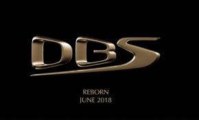 Teaser for Aston Martin DBS Superleggera debuting in June 2018