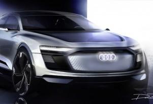 All-electric Audi e-tron Sportback concept teased for Shanghai auto show