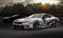 Teaser for BMW 8-Series debuting at 2018 24 Hours of Le Mans