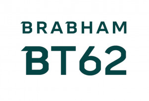 Teaser for Brabham BT62 debuting in May 2018