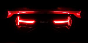 Teaser for Brabham BT62 debuting on May 2, 2018