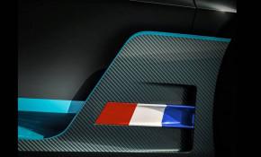 Teaser for Bugatti Divo debuting on August 24