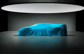 Teaser for Bugatti Divo debuting on August 24