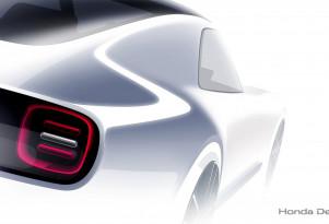 Teaser for Honda Sports EV Concept debuting at 2017 Tokyo Motor Show